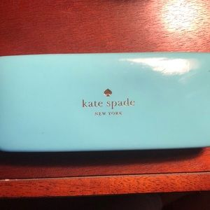 Kate spade glasses with case and brand new wipe